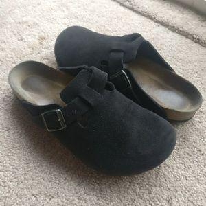Birkenstock black clogs sz 40
